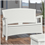 7 Elegant Outdoor Storage Benches For Your Garden Cute Furniture