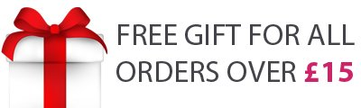 FREE GIFT OVER £15