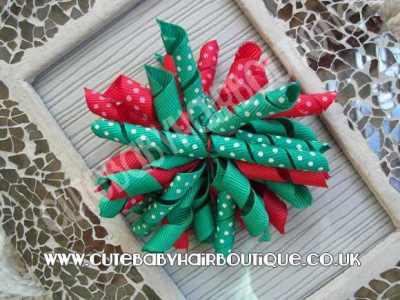 Christmas Hair Clip for Girls