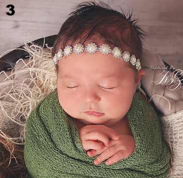 Princess Headband with Pearls