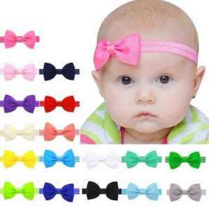 Small Bow Headband for newborns