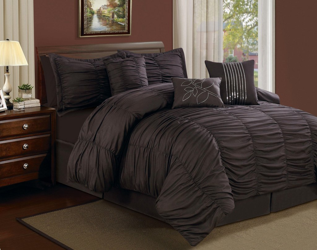 Top 10 Rich Chocolate Brown Comforters For A Luscious Bedroom