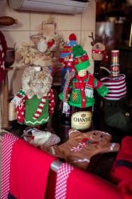 Weihnachatliche Flaschenwärmer