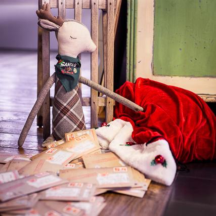 Die ersten Briefe vom Weihnachtsmann sind unterwegs. Wenn Du noch keinen hast, kannst du ihn bis zum 21.12. bestellen.