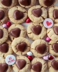 Peanut Butter Herz Cookies