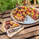 Pizza mit Kekscrust