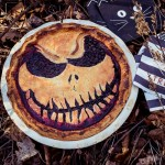 Blueberry Halloween Pie