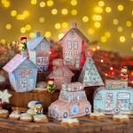 Weihnachtsdorf zum Basteln