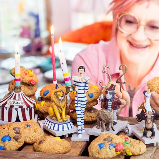 Zu meinem Geburtstag gibt es Peanut Butter Cookies