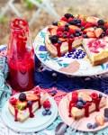 Himbeerswirl Cheesecake