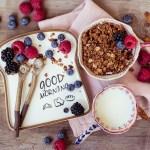 Veganes glutenfreies Caramel Granola
