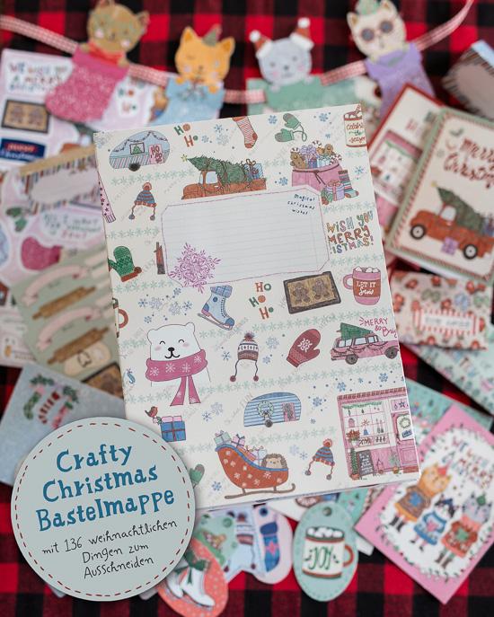 Die neue Crafty Christmas Bastelmappe zu Weihnachten