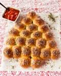Käse Brötchen mit Marinara Sauce