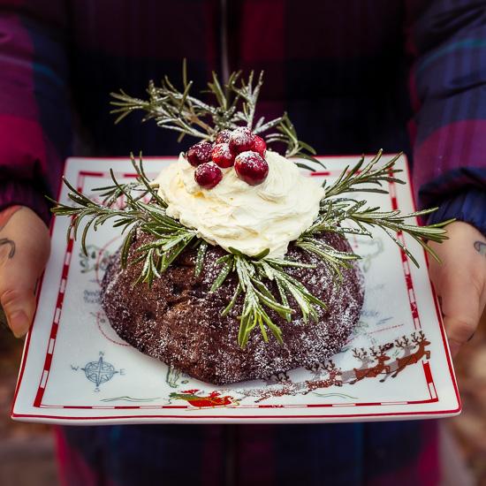 Egal ob Weihnachten schon vorbei ist, bei uns gibt es heute diesen Christmas Pudding