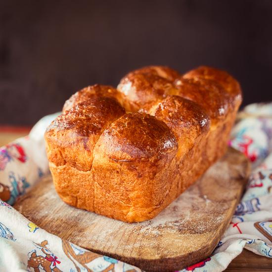 Frisches Brioche gehört zu meinen absoluten Lieblings Broten