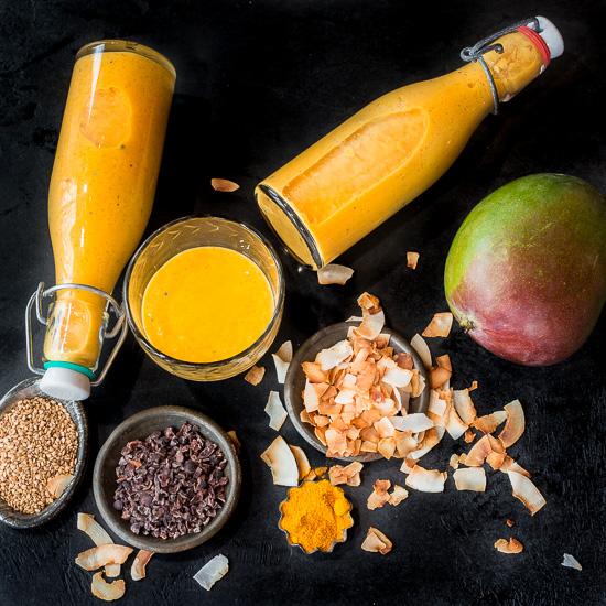 Hier mein Rezept für eine leckere Mango Lassi