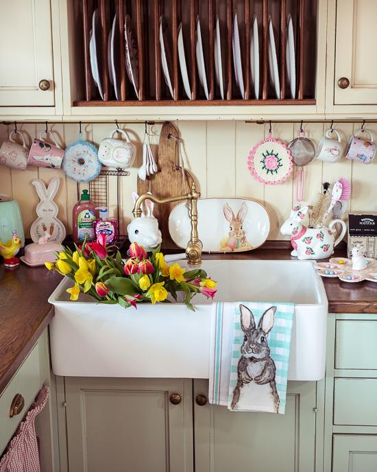 Ich habe einfach mal mit Ostern in meiner Küche angefangen
