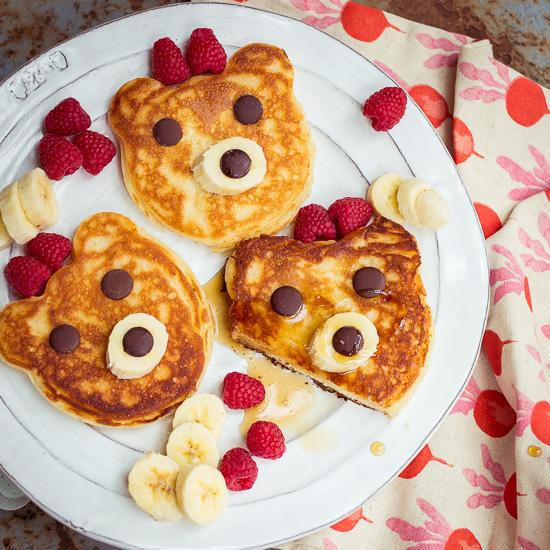 Was kann es für ein besseres Frühstück geben als Bärenpancakes :-)