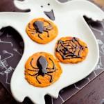 Halloween Spinnen Pancakes