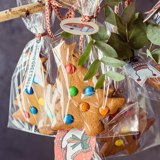Die Gingerbread Bäume die ich heute gebacken habe