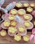 Blumenkekse zu Ostern