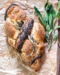 Freitags 3 Mal Challah Brot