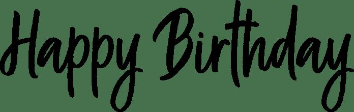 Happy Birthday Word Art Kind Heart