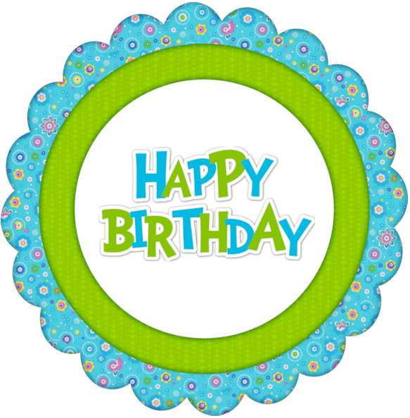 Diy Birthday Party Printable Cupcake Topper Stickers