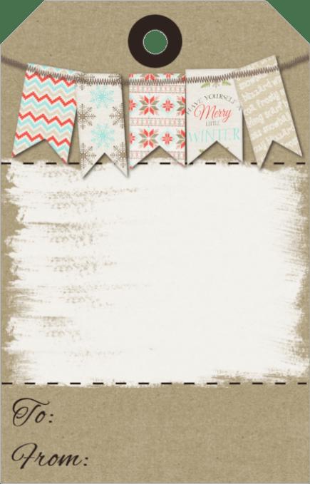 Free printable gift tags cutecrafting kraft gift tags negle Choice Image