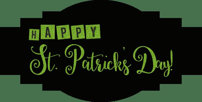 St. Patrick's Day Label Free