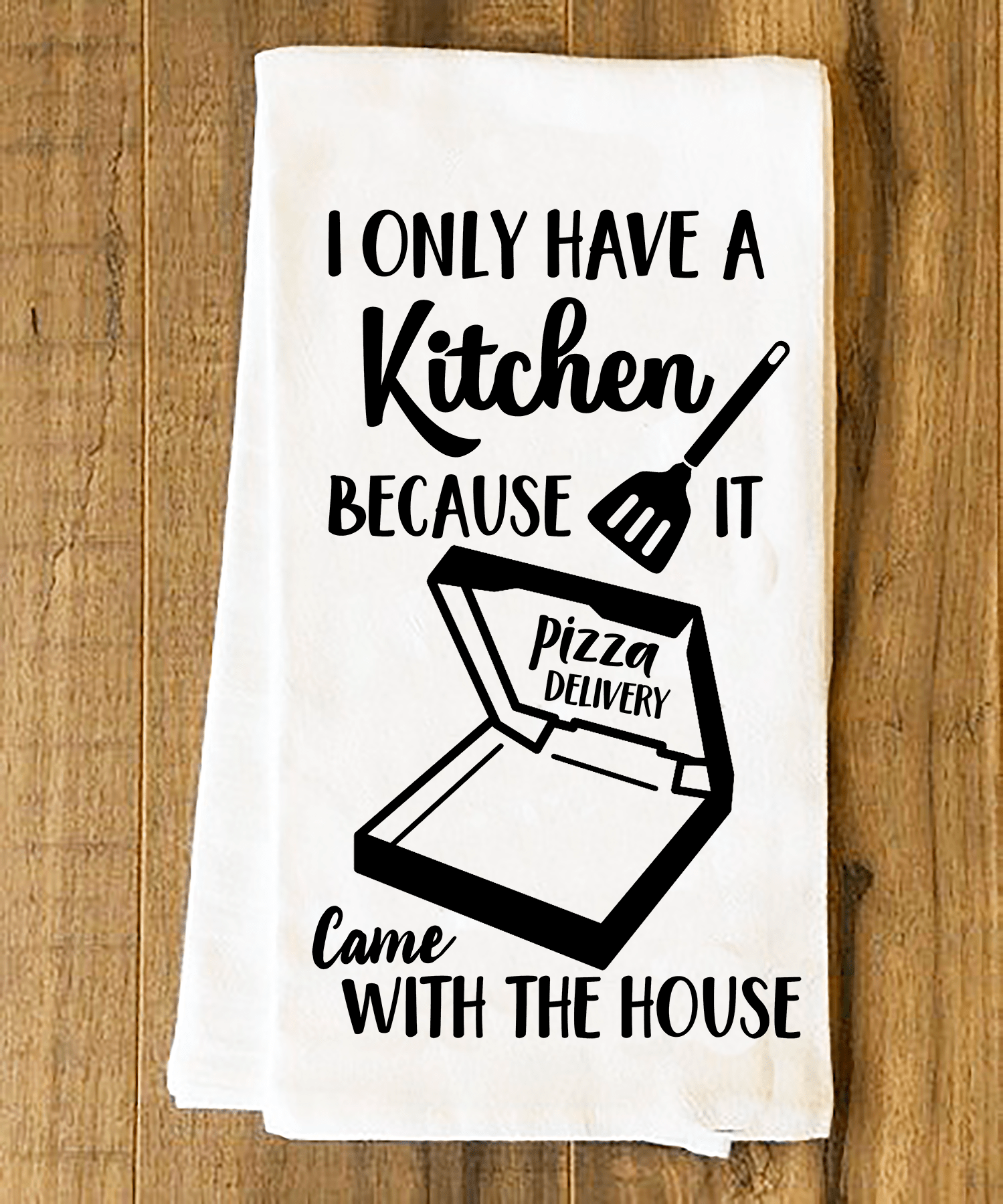 I Only Have A Kitchen Because It Came With The House SVG Cutting File