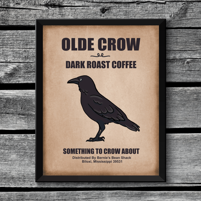 Primitive Crow Sign