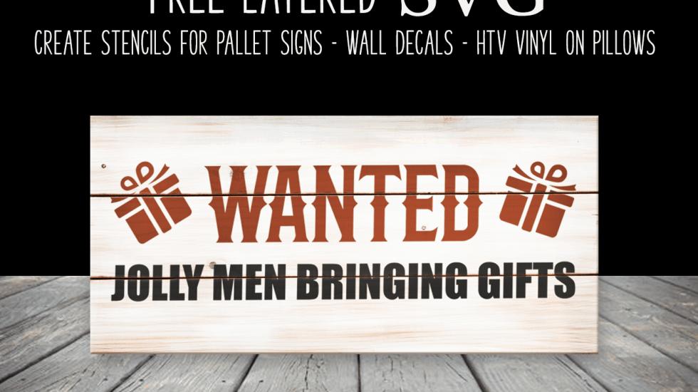 Free Christmas Sign SVG