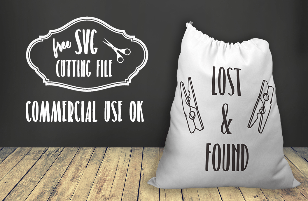 Lost and Found Sign SVG
