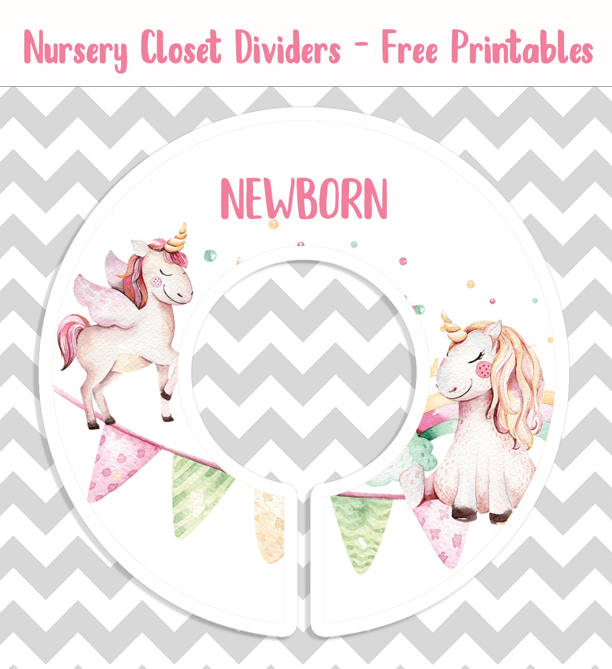 photo about Free Printable Closet Dividers identify nursery closet dividers CuteCrafting