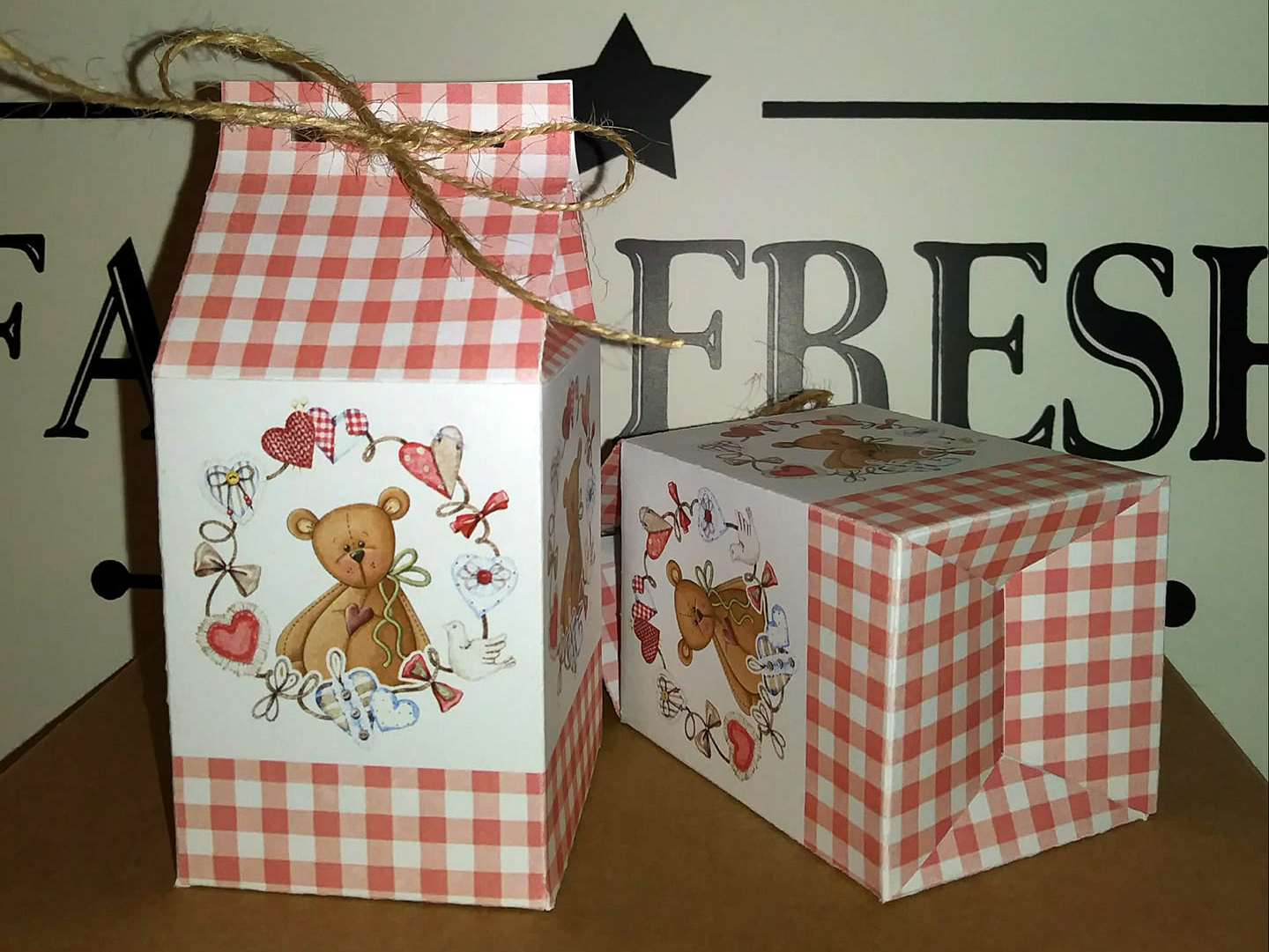 teddy bear gift boxes diy