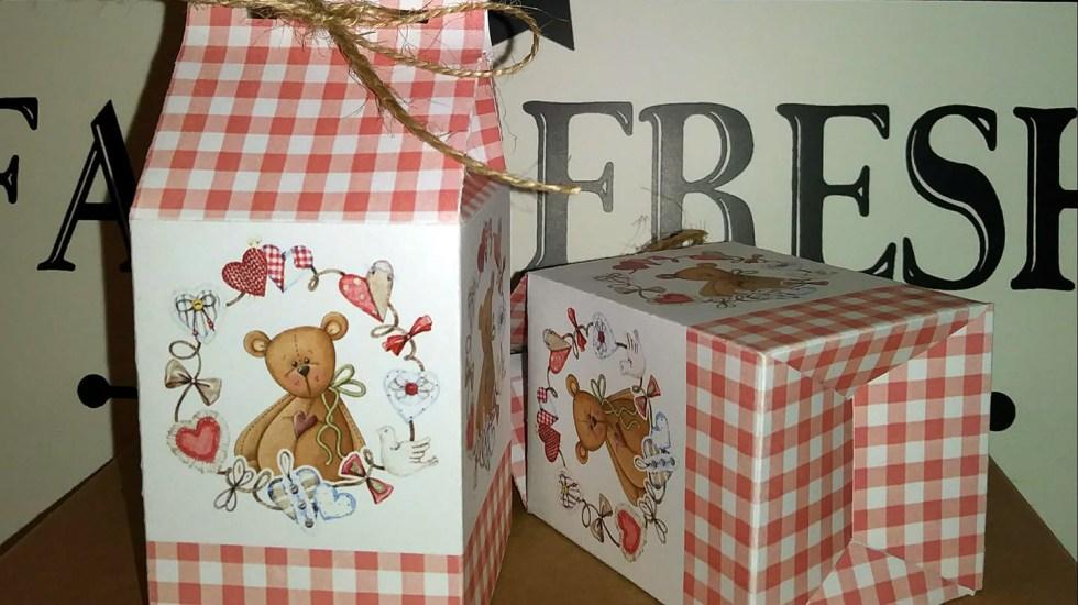 teddy bear gift boxes diy
