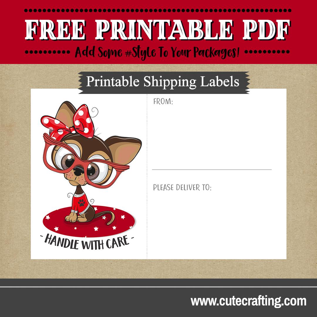 Free Chihuahua Puppy Printable