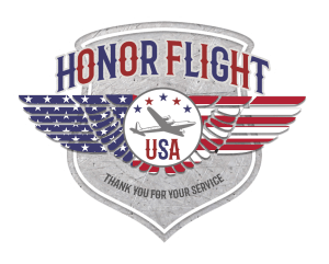 Free Honor Flight Sticker Red White Blue