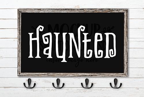 Haunted SVG Cut File