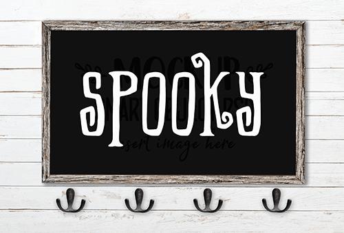 Spooky SVG Cut File