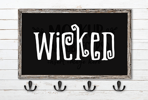 Wicked SVG Cut File