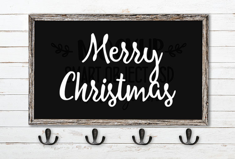 merry chrismtas svg word art allessa script