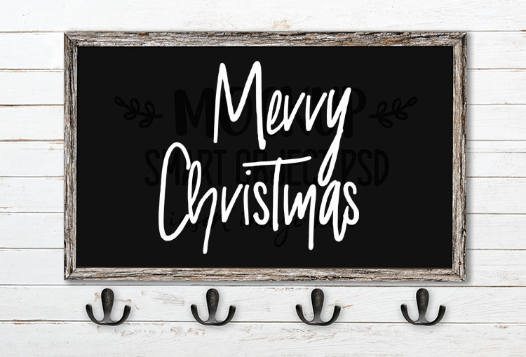 merry christmas svg word art galimo
