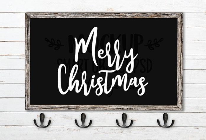 merry christmas svg word art goodies font