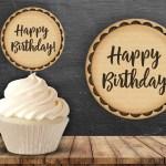 Kraft Birthday Toppers