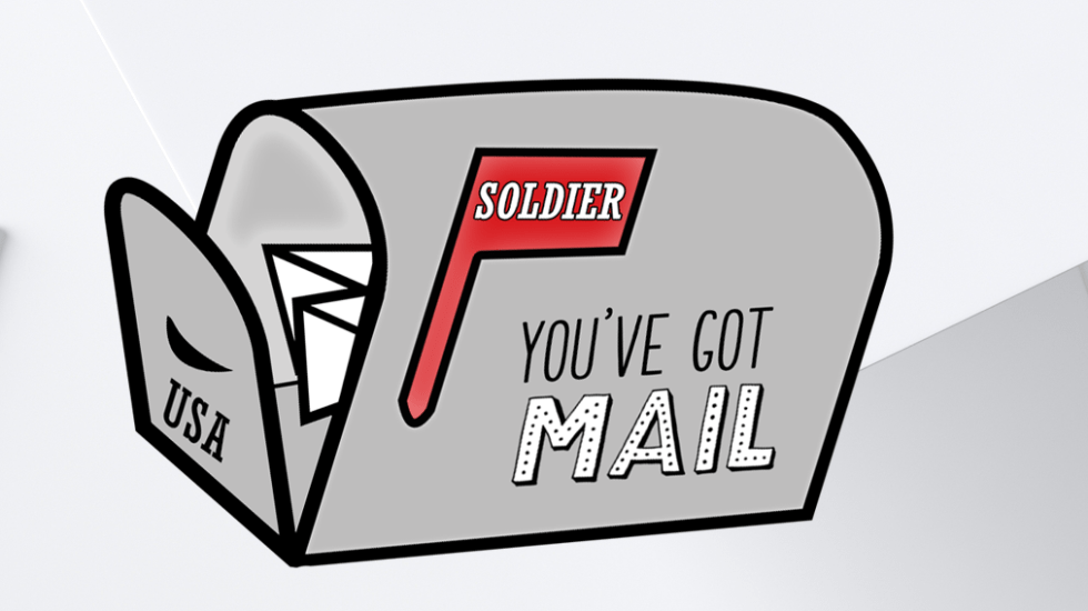Soldier You've Got Mail Stickers Digital PNG