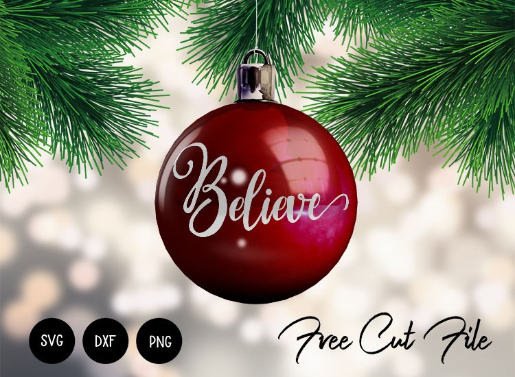 Believe svg dxf png free download