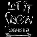 Let It Snow Free SVG Cut File DXF Commercial Use