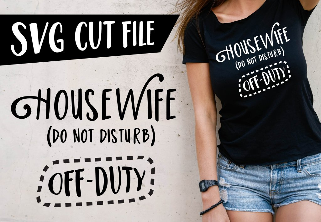 free svg dxf cut file housewife